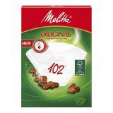 Melitta Kaffefilter 102 Vit 80-pack