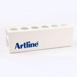 Whiteboardpennhållare Artline magnetisk för 6 pennor