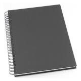 Anteckningsbok Grieg Design spiral A4 linjerat svart