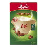 Melitta Kaffefilter 1x6 oblekt 40-p