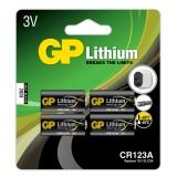 GP CR 123A-C1, 4-pack