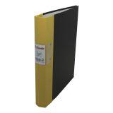 Gaffelpärm Esselte Jopa A4/40 gul FSC® Mix96%
