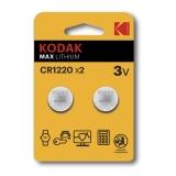 Kodak Max lithium CR1220 2-pack