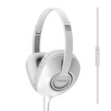 Koss hörlurar UR23iW On-Ear one touch mic, vit