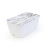 Bosign Kabelsamlare M - vit/ marmor. plast, silikon