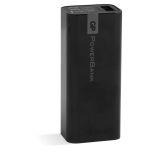 GP 2600mAh portabel powerbank, svart