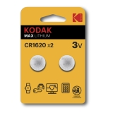 Kodak Max lithium CR1620 2-pack