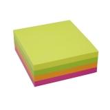 Notisblock Stick n Notes 76x76 mm flerfärgad 5 st