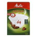 Melitta Kaffefilter 1x4 Vit 80-pack