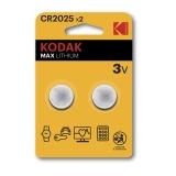 Kodak Max lithium CR2025 2-pack
