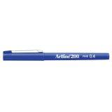 Fineliner Artline EK-200 F 0.4 Blå