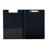 Skrivplatta m.omslag A4 svart