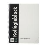 Kollegieblock A4 60 g 70 blad linjerat, 10 st
