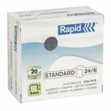 Klammer Rapid Standard 24/6 Galv.5000