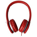 Maxell MXH-HP201 SUPER STYLE HEADPHONE RED