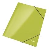 Gummibandsmapp Leitz Wow A4 grön