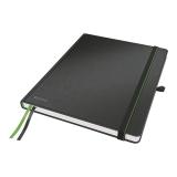 Anteckningsbok Leitz iPad-size linjerat svart