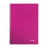 Anteckningsbok Leitz Wow  A4 linjerat rosa