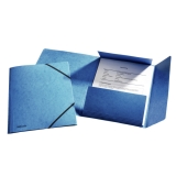Snoddmapp Esselte A4 blå 3-klaff