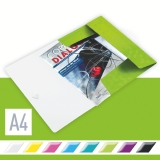 3-klaffmapp Leitz WOW PP A4 grön
